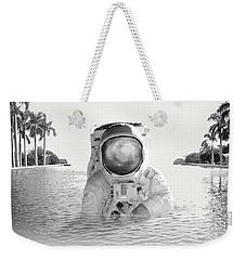 Astronaut Weekender Tote Bag by Fran Rodriguez