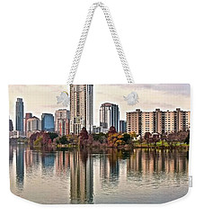 Austin Wide Shot Weekender Tote Bag by Frozen in Time Fine Art Photography