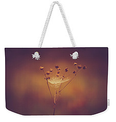 Autumn Web Weekender Tote Bag by Shane Holsclaw