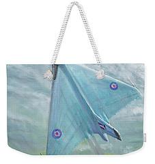Avro Vulcan B1 Night Flight Weekender Tote Bag by Vincent Alexander Booth