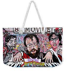 B Movie Weekender Tote Bag by Jonathan Morrill