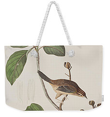 Bachmans Sparrow Weekender Tote Bag by John James Audubon