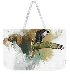 Ballet Dancer Weekender Tote Bag by Donna Kennedy