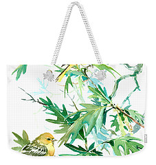 Baltimore Orioles And Oak Tree Weekender Tote Bag by Suren Nersisyan