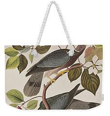 Band-tailed Pigeon  Weekender Tote Bag by John James Audubon
