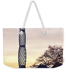 Battery Park City, New York Weekender Tote Bag by Sandy Taylor
