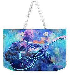 Bb King Weekender Tote Bag by Dan Sproul