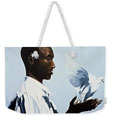 Be Free Three Weekender Tote Bag by Kaaria Mucherera