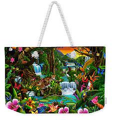 Beautiful Rainforest Weekender Tote Bag by Gerald Newton