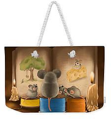 Bedtime Story Weekender Tote Bag by Veronica Minozzi