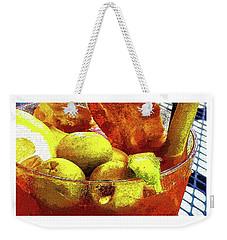 Best Bloody Weekender Tote Bag by Deborah Nakano