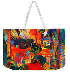 Beverly Hills Weekender Tote Bag by Peter Graham