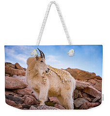 Billy Goat's Scruff Weekender Tote Bag by Darren White