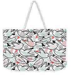 Bird Solid Weekender Tote Bag by Elizabeth Taylor