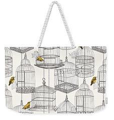 Birdcages Weekender Tote Bag by Stephanie Davies