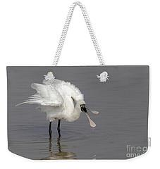 Black-faced Spoonbill Weekender Tote Bag by Martin Hale/FLPA