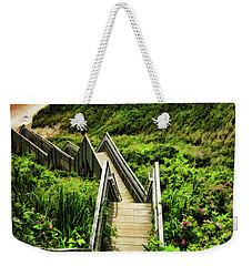 Block Island Weekender Tote Bag by Lourry Legarde
