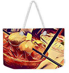 Bloody Mary And Moscow Mule Weekender Tote Bag by Frush Photos