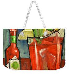 Bloody Mary Weekender Tote Bag by Tim Nyberg