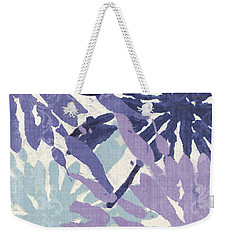 Blue Curry II Weekender Tote Bag by Mindy Sommers
