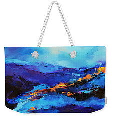 Blue Shades Weekender Tote Bag by Elise Palmigiani