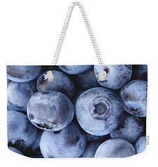 Blueberries Foodie Phone Case Weekender Tote Bag by Edward Fielding