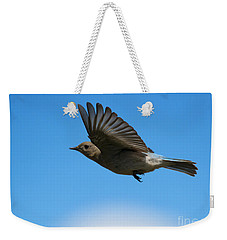 Bluebird Glide Weekender Tote Bag by Mike Dawson