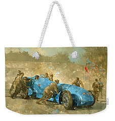 Bluebird Weekender Tote Bag by Peter Miller