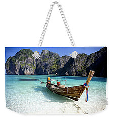 Boat Beach Collection Weekender Tote Bag by Marvin Blaine