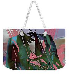 Bob Dylan Modern Etching Art Poster Weekender Tote Bag by Kim Wang