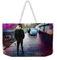 Bob Dylan No Direction Home 1 Weekender Tote Bag by Tony Rubino