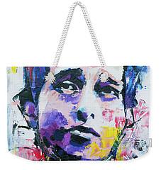 Bob Dylan Portrait Weekender Tote Bag by Richard Day