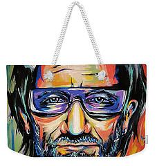 Bono Weekender Tote Bag by Amy Belonio