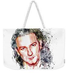 Bono Vox Weekender Tote Bag by Marian Voicu