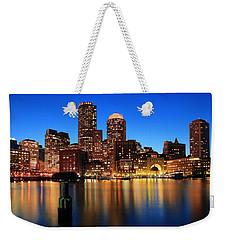 Boston Aglow Weekender Tote Bag by Rick Berk