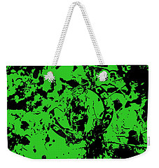 Boston Celtics 1a Weekender Tote Bag by Brian Reaves
