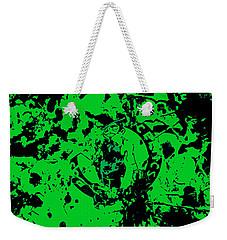 Boston Celtics 1c Weekender Tote Bag by Brian Reaves