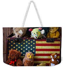 Box Full Of Bears Weekender Tote Bag by Garry Gay