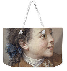Boy With A Carrot, 1738 Weekender Tote Bag by Francois Boucher