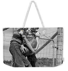 Boys Stealing A Watermelon, C.1950s Weekender Tote Bag by H. Armstrong Roberts/ClassicStock