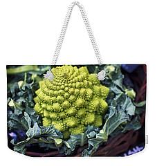 Brassica Oleracea Weekender Tote Bag by Heather Applegate