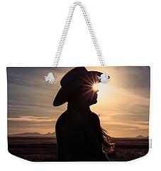 Bright Eyes Weekender Tote Bag by Todd Klassy