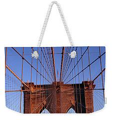 Brooklyn Bridge Weekender Tote Bag by Brooklyn Bridge