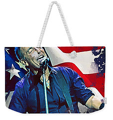 Bruce Springsteen Weekender Tote Bag by Afterdarkness