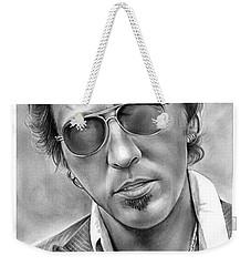 Bruce Springsteen Weekender Tote Bag by Greg Joens