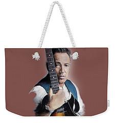 Bruce Springsteen Weekender Tote Bag by Melanie D