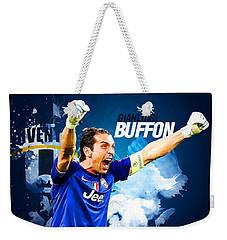 Buffon Weekender Tote Bag by Semih Yurdabak