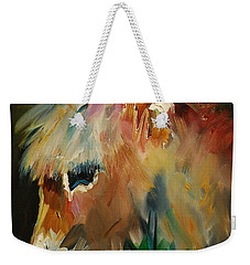 Burro Donkey Weekender Tote Bag by Diane Whitehead