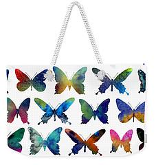 Butterflies Weekender Tote Bag by Varpu Kronholm