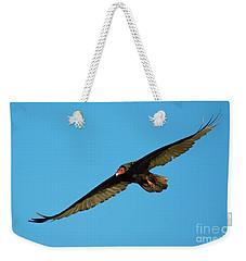 Buzzard Circling Weekender Tote Bag by Mike Dawson
